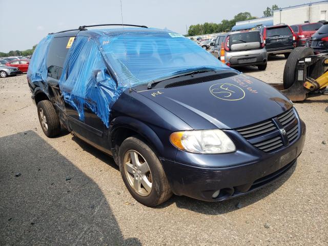 Dodge salvage cars for sale: 2007 Dodge Grand Caravan