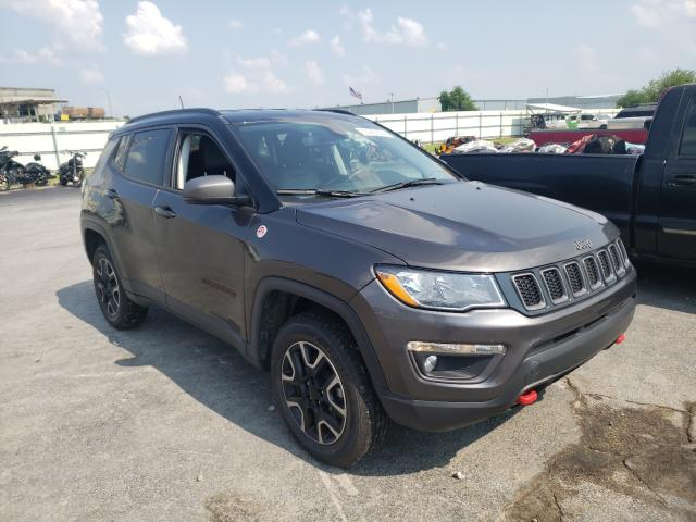 Salvage cars for sale from Copart Tulsa, OK: 2019 Jeep Compass TR
