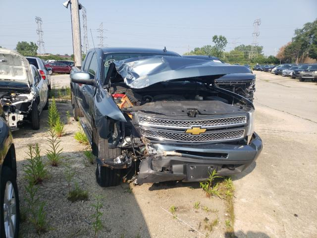 Salvage cars for sale from Copart Wheeling, IL: 2013 Chevrolet Silverado