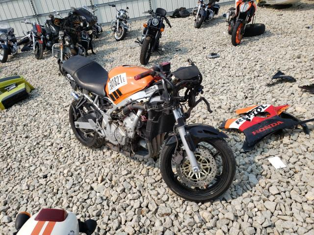 Salvage cars for sale from Copart Appleton, WI: 1997 Honda CBR600 F3