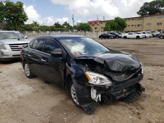 Salvage cars for sale from Copart Opa Locka, FL: 2015 Nissan Sentra
