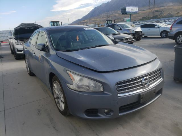 Salvage cars for sale from Copart Farr West, UT: 2010 Nissan Maxima S