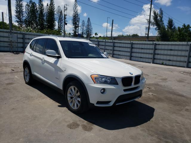 Salvage cars for sale from Copart Miami, FL: 2013 BMW X3 XDRIVE2
