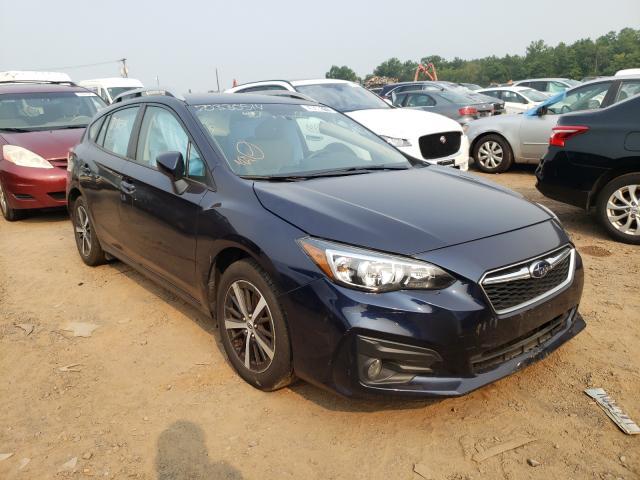 Salvage cars for sale from Copart Hillsborough, NJ: 2019 Subaru Impreza PR