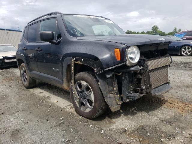 Vehiculos salvage en venta de Copart Spartanburg, SC: 2018 Jeep Renegade S