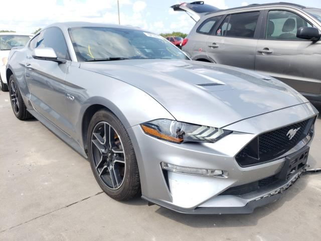 Salvage cars for sale from Copart Grand Prairie, TX: 2020 Ford Mustang GT