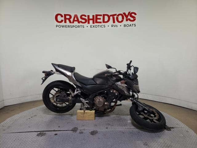 Salvage cars for sale from Copart Dallas, TX: 2016 Honda CB500 F