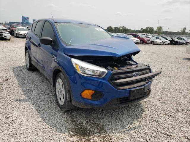 Salvage cars for sale from Copart Des Moines, IA: 2017 Ford Escape S