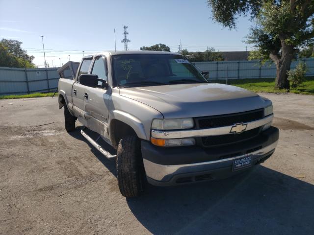 Salvage cars for sale from Copart Orlando, FL: 2002 Chevrolet Silverado