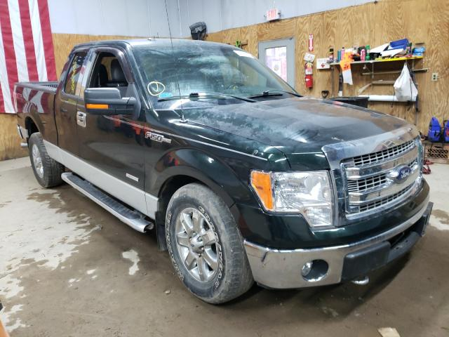 Salvage cars for sale from Copart Kincheloe, MI: 2013 Ford F150 Super