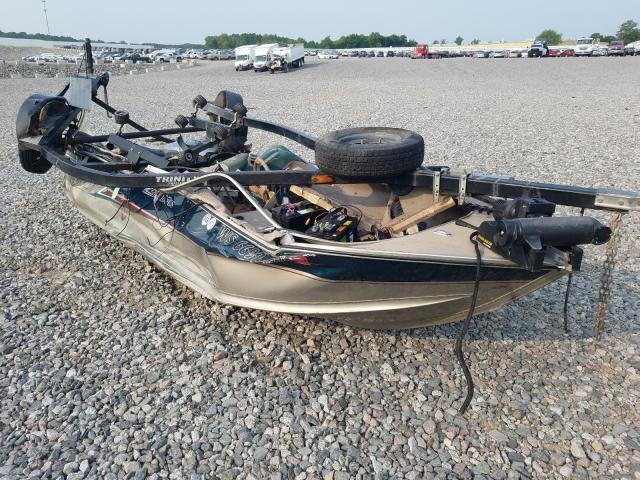 Alumacraft salvage cars for sale: 2003 Alumacraft Boat