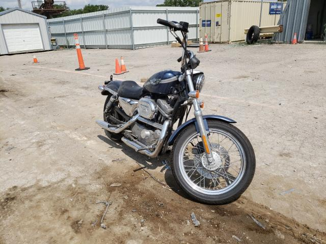 Salvage cars for sale from Copart Wichita, KS: 2003 Harley-Davidson XL883 Hugg