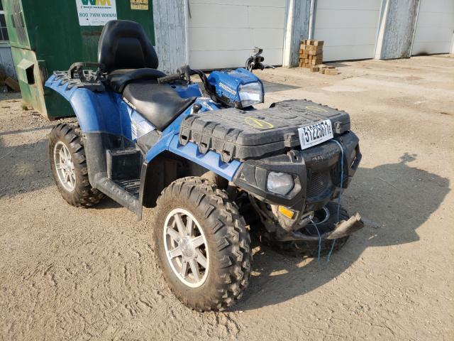 Salvage motorcycles for sale at Davison, MI auction: 2014 Polaris Sportsman
