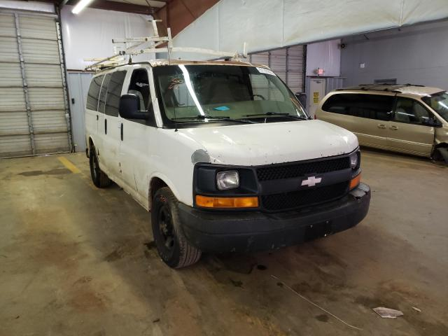 Salvage cars for sale from Copart Mocksville, NC: 2005 Chevrolet Express G1