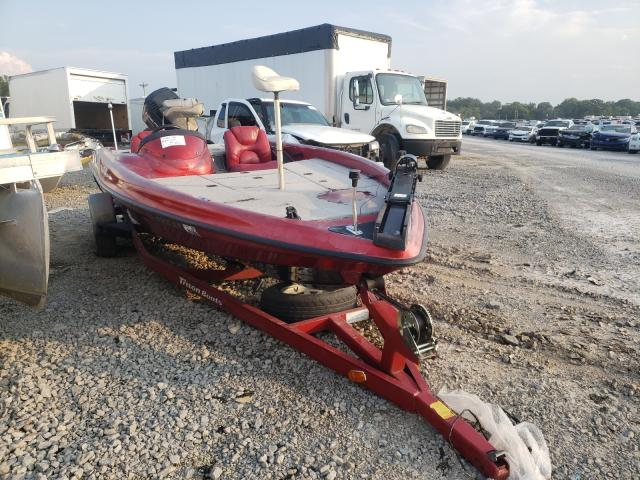 Salvage cars for sale from Copart Lebanon, TN: 2000 Triton Boat With Trailer