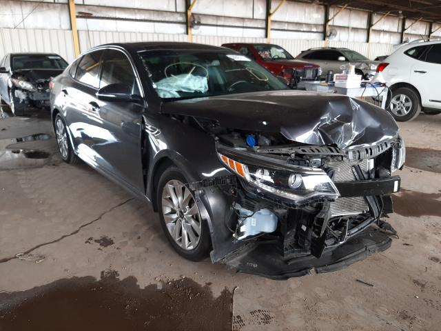 Salvage cars for sale from Copart Phoenix, AZ: 2017 KIA Optima EX