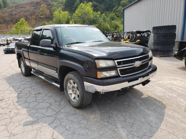 Salvage cars for sale from Copart Hurricane, WV: 2006 Chevrolet Silverado