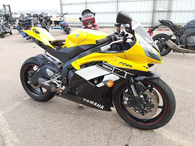 Salvage cars for sale from Copart Phoenix, AZ: 2006 Yamaha YZFR6 C