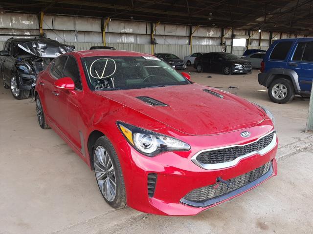 KIA Stinger salvage cars for sale: 2019 KIA Stinger