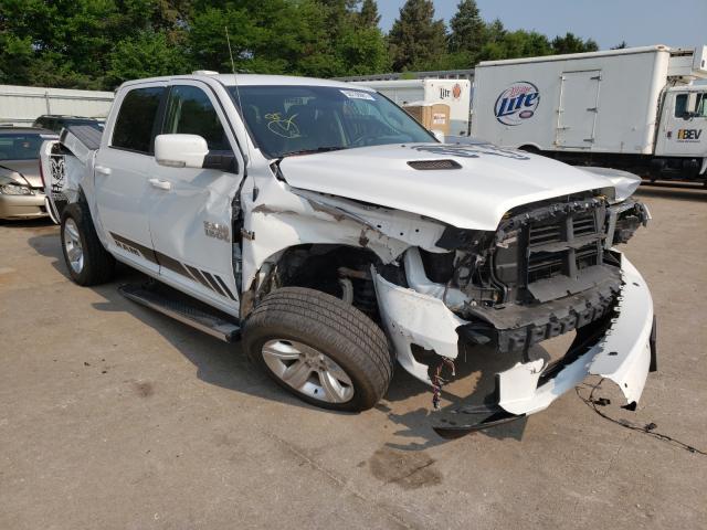 Salvage cars for sale from Copart Eldridge, IA: 2014 Dodge RAM 1500 Sport