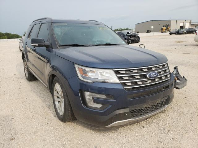 Salvage cars for sale from Copart San Antonio, TX: 2017 Ford Explorer X