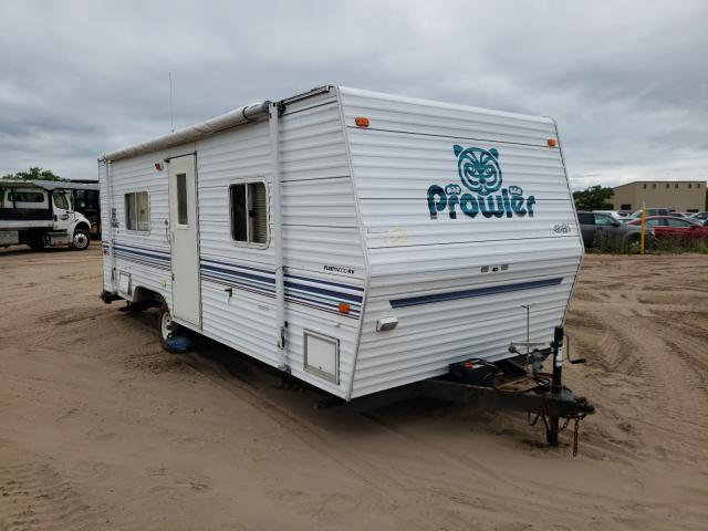 Salvage cars for sale from Copart Kincheloe, MI: 2002 Prowler Travel Trailer