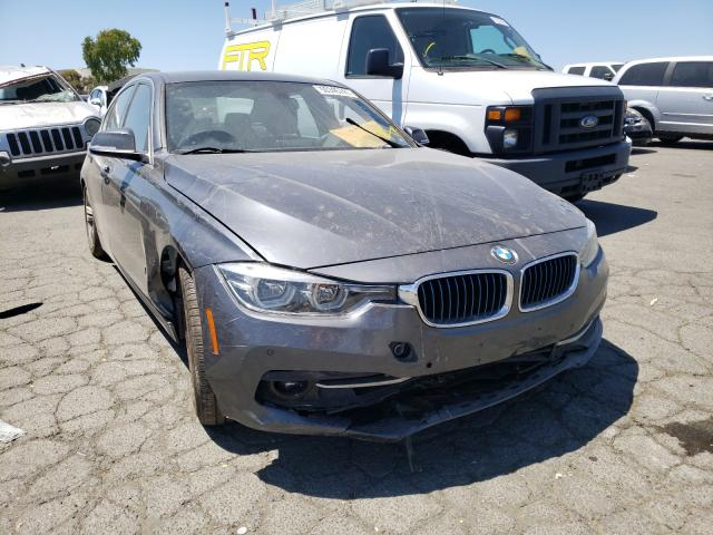 Salvage trucks for sale at Martinez, CA auction: 2017 BMW 330E
