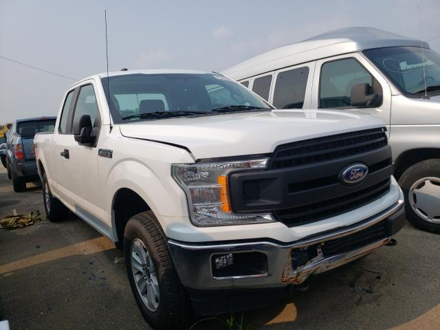 Salvage cars for sale at Moraine, OH auction: 2018 Ford F150 Super