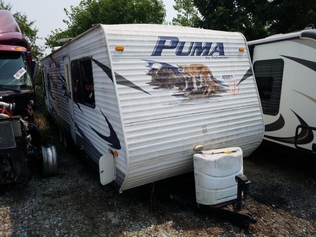 Puma Vehiculos salvage en venta: 2010 Puma Trailer