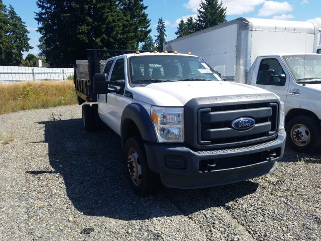 Salvage trucks for sale at Graham, WA auction: 2015 Ford F450 Super