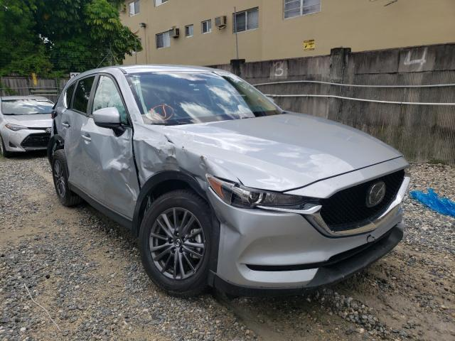 Salvage cars for sale from Copart Opa Locka, FL: 2021 Mazda CX-5 Touring