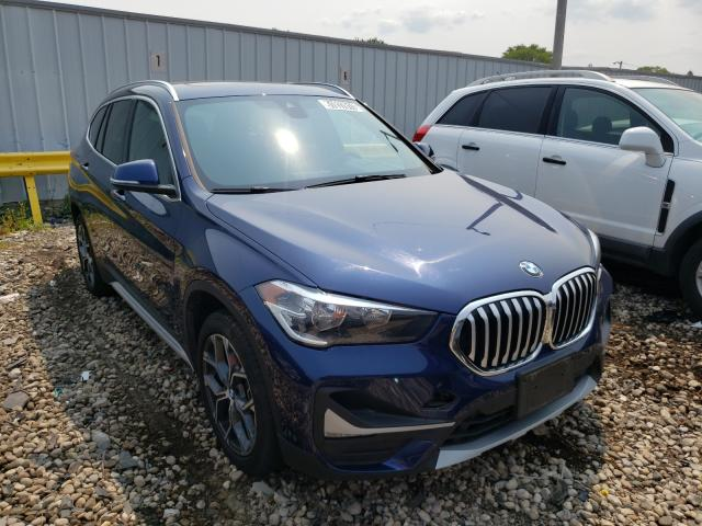 Salvage cars for sale from Copart Cudahy, WI: 2020 BMW X1 XDRIVE2