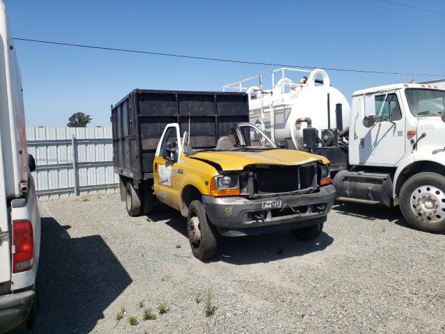Vehiculos salvage en venta de Copart Vallejo, CA: 2001 Ford F450 Super
