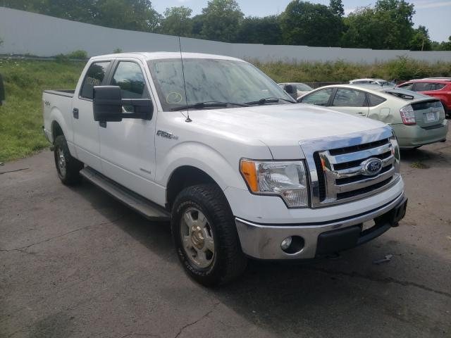 Salvage cars for sale from Copart Marlboro, NY: 2012 Ford F150 Super