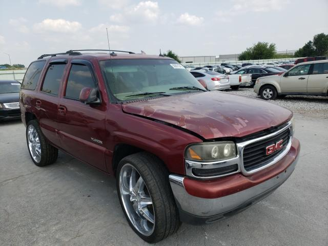 Salvage cars for sale from Copart Tulsa, OK: 2003 GMC Yukon