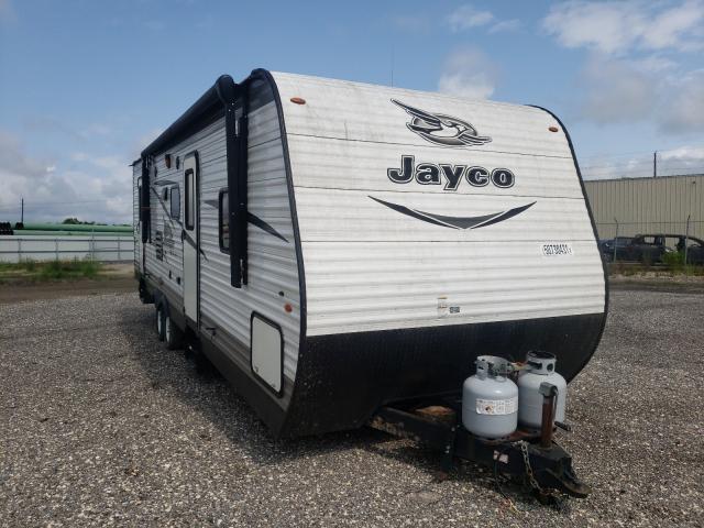 Jayco salvage cars for sale: 2017 Jayco Travel Trailer