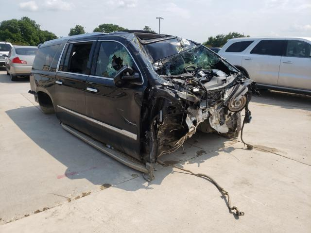 Vehiculos salvage en venta de Copart Wilmer, TX: 2016 Cadillac Escalade E