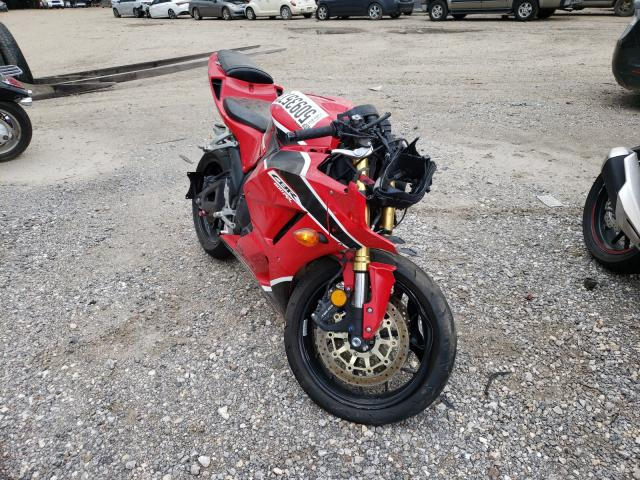 Salvage cars for sale from Copart Houston, TX: 2018 Honda CBR600 RR