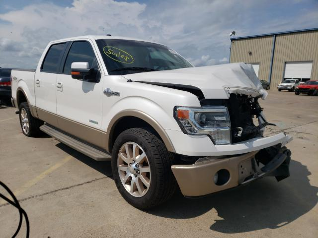 Salvage cars for sale from Copart Wilmer, TX: 2013 Ford F150 Super