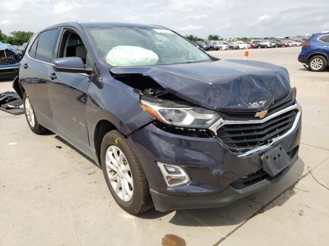 Vehiculos salvage en venta de Copart Grand Prairie, TX: 2018 Chevrolet Equinox LT