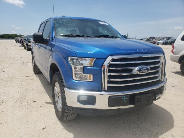 Salvage cars for sale from Copart San Antonio, TX: 2016 Ford F150 Super