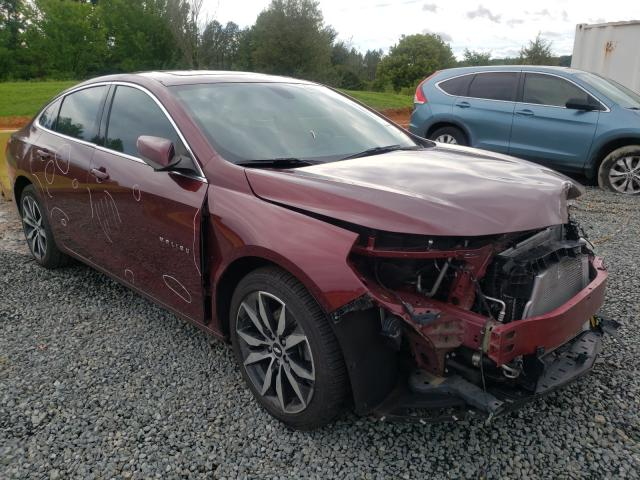 Salvage cars for sale from Copart Concord, NC: 2016 Chevrolet Malibu LT