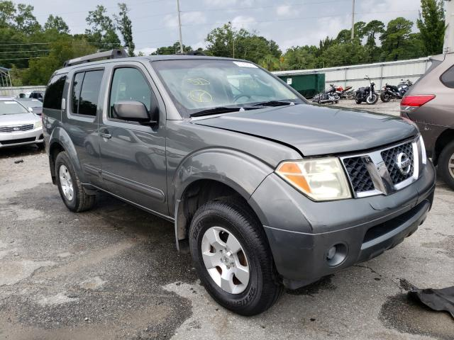 Salvage cars for sale from Copart Savannah, GA: 2007 Nissan Pathfinder