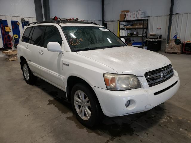 Toyota salvage cars for sale: 2006 Toyota Highlander