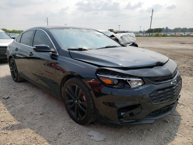 Salvage cars for sale at Indianapolis, IN auction: 2018 Chevrolet Malibu LT