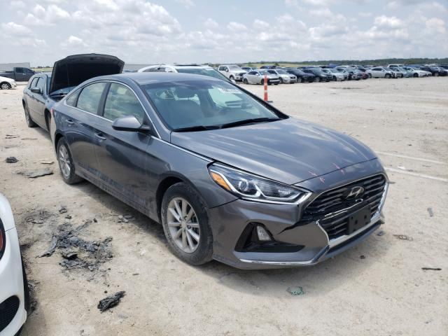 Salvage cars for sale from Copart New Braunfels, TX: 2019 Hyundai Sonata SE