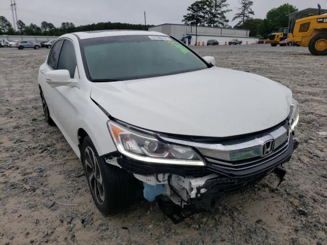 Vehiculos salvage en venta de Copart Loganville, GA: 2017 Honda Accord EXL