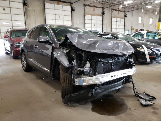 Acura RDX salvage cars for sale: 2020 Acura RDX