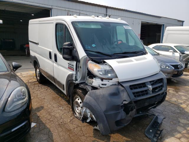 Salvage cars for sale from Copart Chicago Heights, IL: 2017 Dodge RAM Promaster