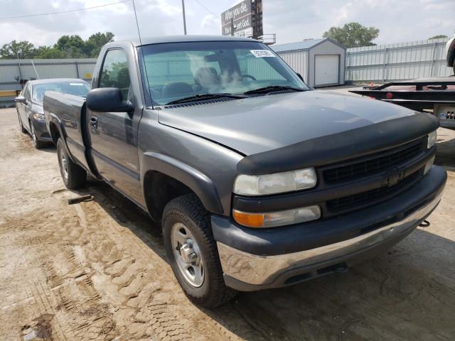 Salvage cars for sale from Copart Wichita, KS: 2002 Chevrolet Silverado